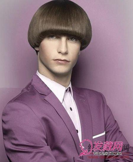 长发男士发型图片
