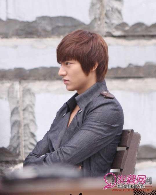 韩剧 城市猎人 男主角李民浩帅气发型