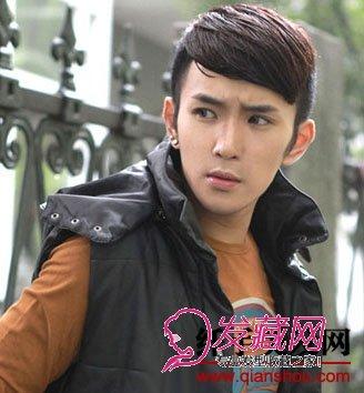 男生斜刘海发型图片(4)图片