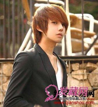 可爱帅气的男生发型设计(4)