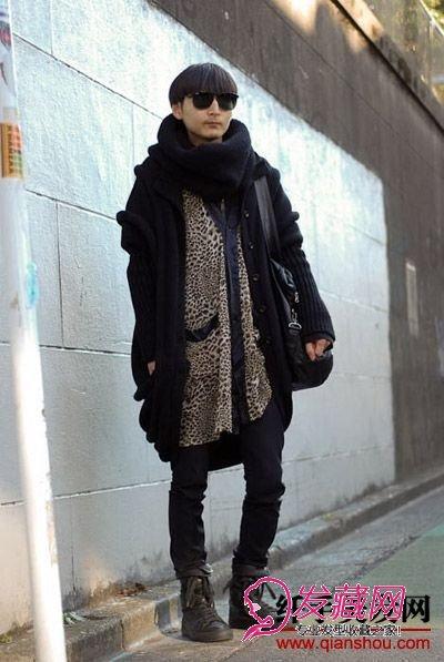【图】日本型男独特搭配与男士发型设计