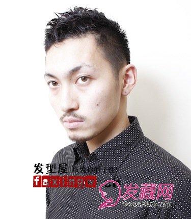长脸男生发型 适合长脸男生的时尚发型设计图片