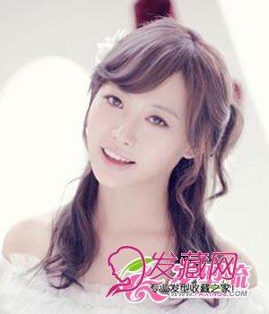 韩式简约新娘发型 打造清新脱俗气质(3)图片