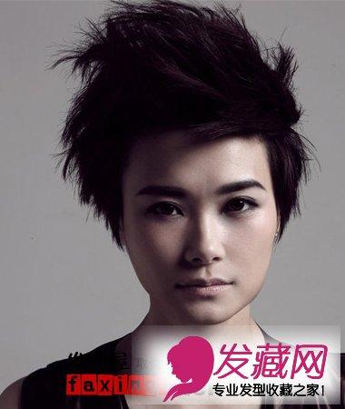 发型网 女生发型 女明星发型 > 李宇春2015最新写真 帅气阳光发型图片