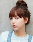 韩式盘发发型 扮靓整个新年