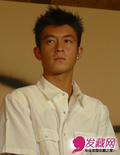 男士发型之陈冠希发型图片解析(2)图片