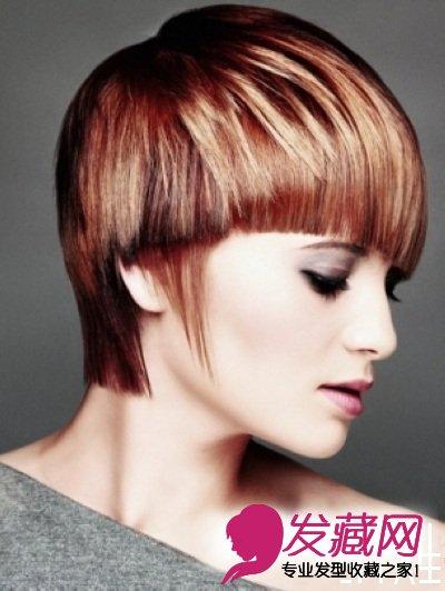 2015女士最新沙宣短发发型图片(2)图片