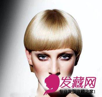 发型网 发型设计 沙宣发型 > 流行发型 沙宣3d完美弧度短发