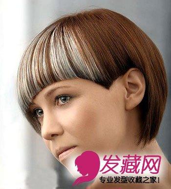流行发型 沙宣3d完美弧度短发(3)图片