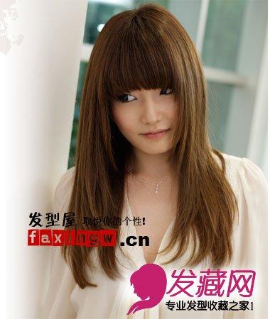 女生中长发发型设计图片(4)图片