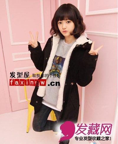 七款韩式最流行中长发烫发发型 做冬季时尚美女