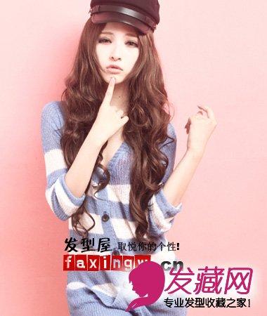 【图】春季女生长发发型设计图片(5)