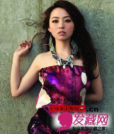 女明星美丽长发发型图片 魅力无限(6)