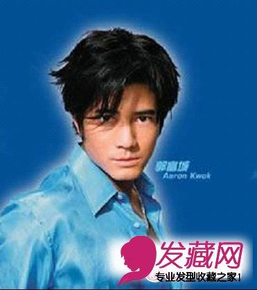 年轻人的心中郭富城的形象是最酷的,郭富城开始留起了长发,稍长的头发图片