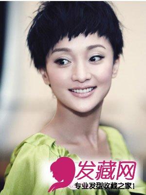 中韩女明星大全图片秀出你的发型运动型大全女短发短发图片大全图片发型图片