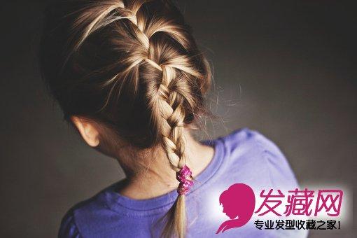 【图】儿童发型图片-可爱儿童发型扎法