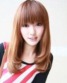 中长梨花头发型打造完美瓜子脸