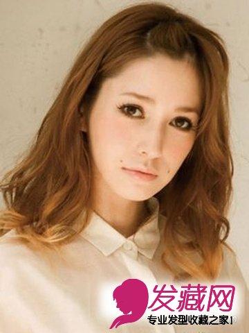 人气麻豆藤井莉娜发型最潮中长发发型(6)