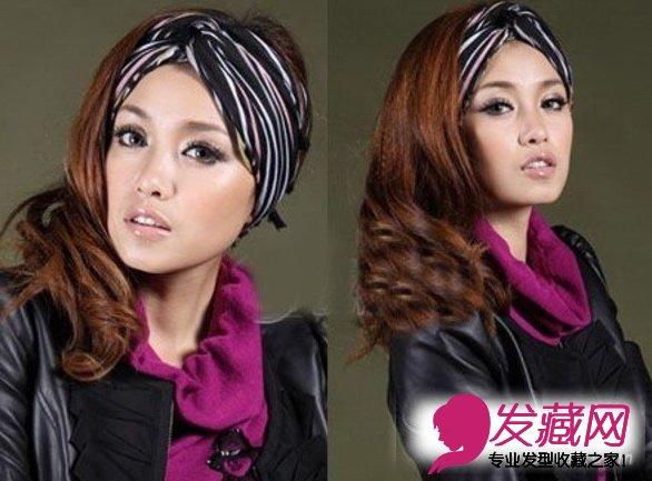 宽额头无刘海女生 女生高额头无刘海发型 宽额头圆脸女生-菱形脸的图片