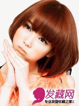 圆脸mm发型设计 4款圆脸发型潮味十足(4)