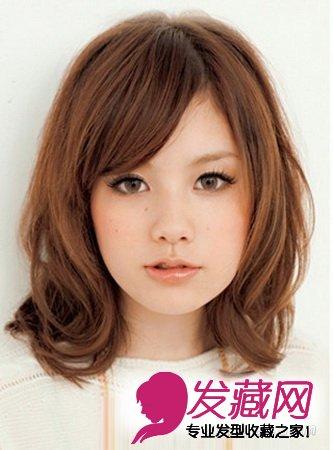圆脸女生发型设计 短发修饰完美脸型(5)图片