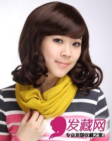 3款发型修饰方脸(3)  导读:3,修脸蓬松梨花蛋卷头短发 设计灵感一头过