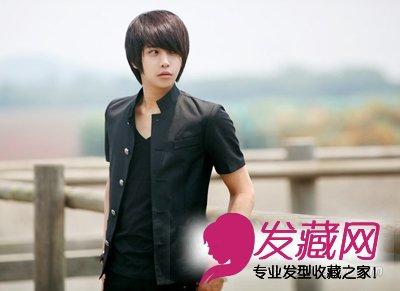 发型/2012最帅男生发型图片做阳光大男孩