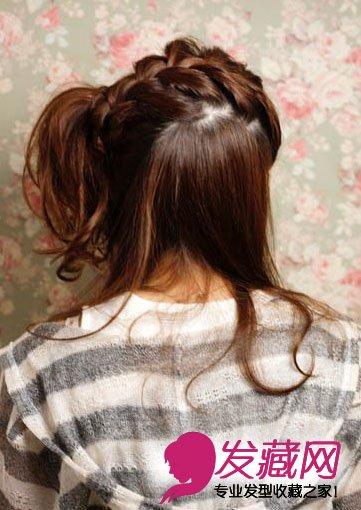 绝美可爱公主发型 教你diy(7)