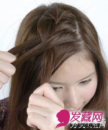 梨花头变甜美侧编发 2款简单时尚diy(2)图片