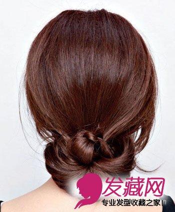 【图】花样盘发发型图片