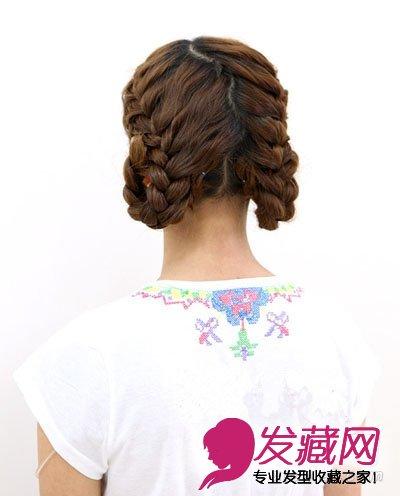 教你三种辫子盘发发型的扎法,这可是最好的发型图片教程哦,你一定不