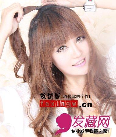 【图】韩版扎头发的方法步骤(2)