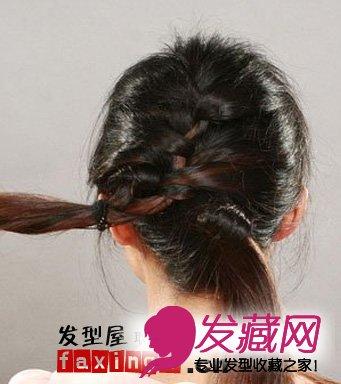 韩式蝎子辫的编法教程 →韩式花苞头发型扎法图解 →韩式可爱发型扎
