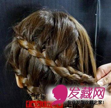 韩式可爱发型扎法步骤