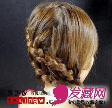 韩国淑女发型扎发集锦 简单韩式发型扎法 →矮个女生发型攻略 甜美