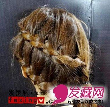 韩式可爱发型扎法步骤(4)图片