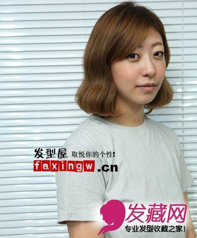 最新韩式中短发发型扎法 卷短发亲手diy