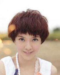 女明星个性短发蓬蓬头造型 时尚女生短发造型今夏最流行图片