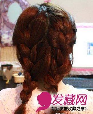 长发妹必学编辫子发型 三股辫编法图解 →秋季最新长发发型 简单设