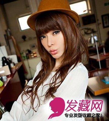 2013最新发型 微卷蓬松烫发时尚亮眼 4 卷发发型 发藏网
