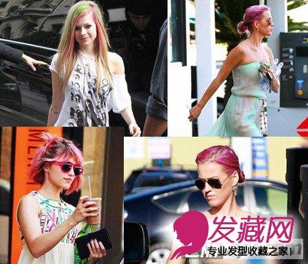 齐秀 发型/还记得欧美女歌手PINK那一头粉红发吗?现在又有不少的明星纷纷...