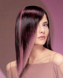 白领女性染什么颜色好看 最流行的片染头发技巧