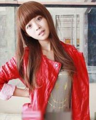女生时尚长假发发型图片 散发最纯女人魅力