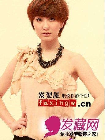 快乐家族吴昕可爱甜美发型分享(3)