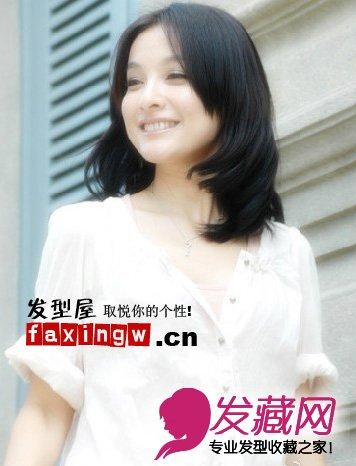 快乐家族吴昕可爱甜美发型分享(4)