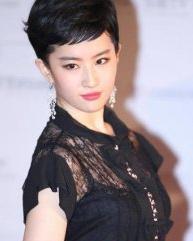 刘亦菲短发发型惊艳 完美演绎优