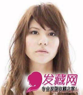 发型网 女生发型 女生护发 > 国字脸适合什么发型,国字脸和方脸适合的图片