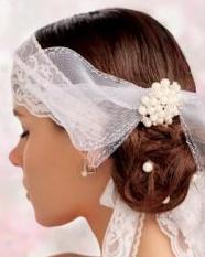创意无限新娘发型 丸子头发型设计