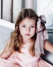 时尚小女孩发型设计 散发孩子纯真气息