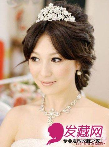 高贵典雅的准新娘公主发型(2)